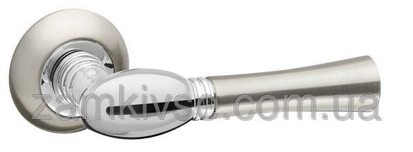 FUARO Ручка раздельная HARMONY RM SN/CP-3