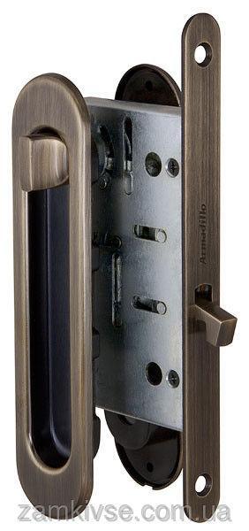 ARMADILLOНабор для раздвижных дверей SH011-BK AB-7 Бронза