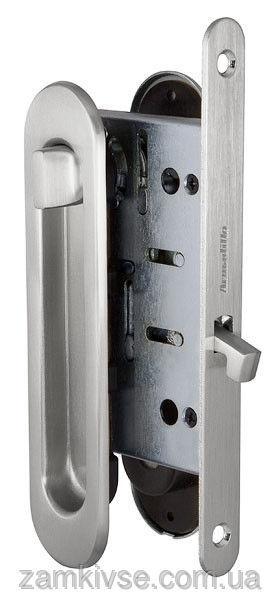 ARMADILLOНабор для раздвижных дверей SH011-BK SN-3 Матовый никель