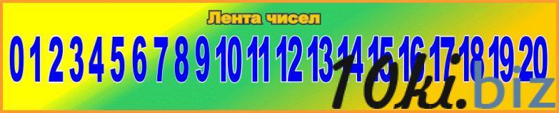 """Cтенд """"Лента чисел"""" купить в Беларуси - Изготовление стендов"""