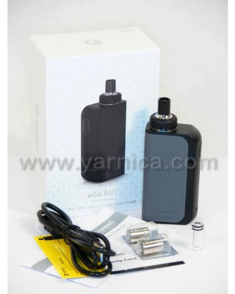 Joyetech eGo AIO BOX 2100mAh Starter Kit, black-gray - 15697