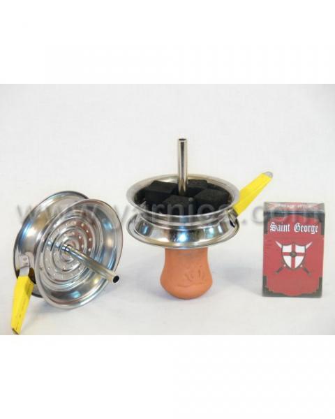 Камин/бача с прорезиненой рукоятью для чаши - 29818,2