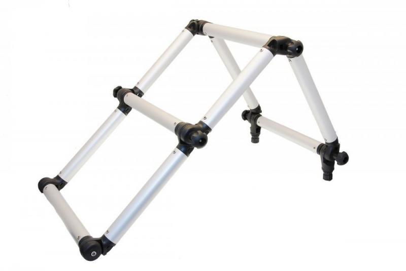 FI032 Лестница(черная)складная из алюминевой трубы ф32мм