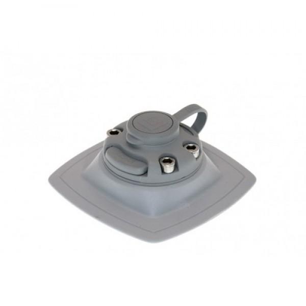 FMp224 Замок+монтажная площадка(серый)для установки на надувной борт