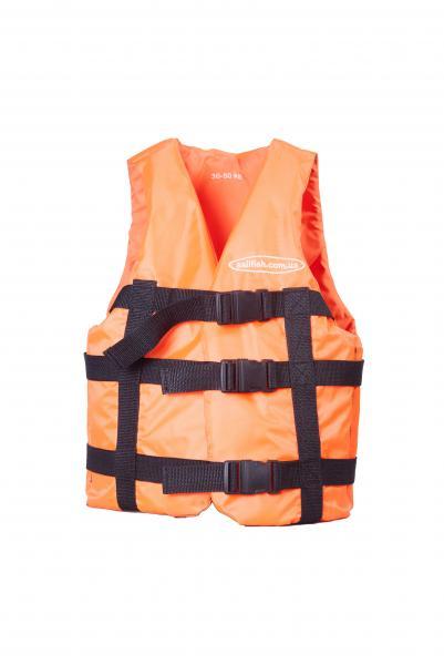 Жилет страховочный Sailfish - 30 * 50 (оранжевый)