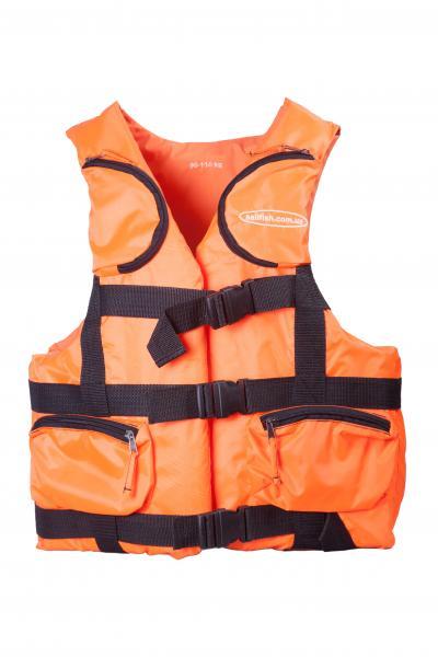 Жилет страховочный Sailfish - 50 * 70 (оранжевый)