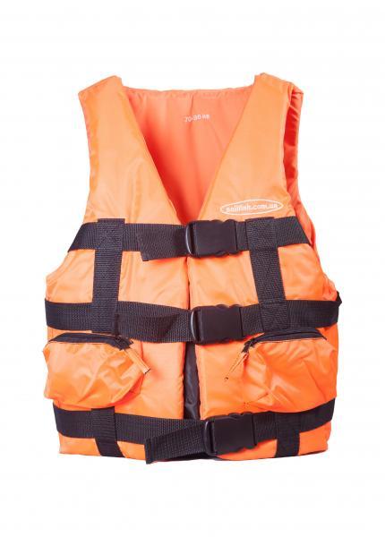 Жилет страховочный Sailfish - 70 * 90 (оранжевый)