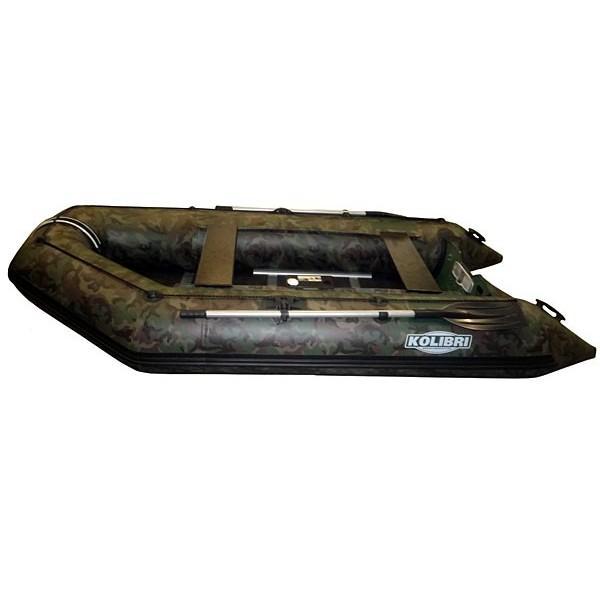 Лодка надувная Колибри K-230 (камуфляж) без слани