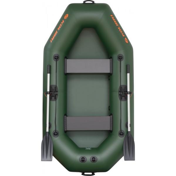 Лодка надувная Колибри K-240 (2х-местная) без слани