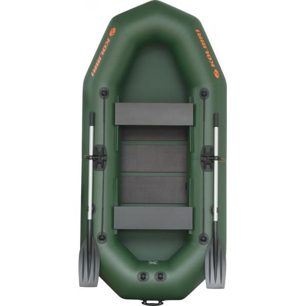 Лодка надувная Колибри K-270T (2х-местная) + слань