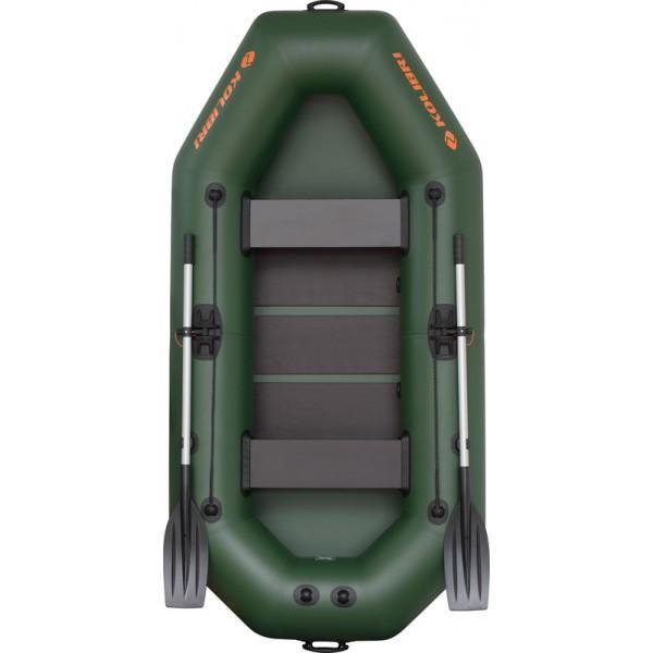 Лодка надувная Колибри K-260Т (2х-местная) + слань