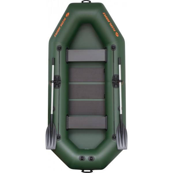 Лодка надувная Колибри K-280T (2х-местная) + слань
