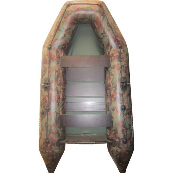 Лодка надувная Колибри KM-300 NEW(цветная) без слани