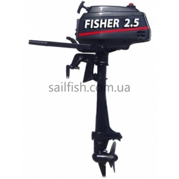 Лодочный мотор Fisher - T 2,5 л/с (2 тактный)