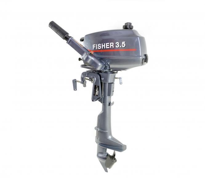 Лодочный мотор Fisher - T 3,5 л/с (2 тактный)