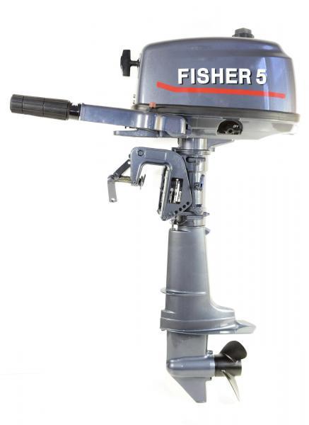 Лодочный мотор Fisher - T 5 л/с (2 тактный)