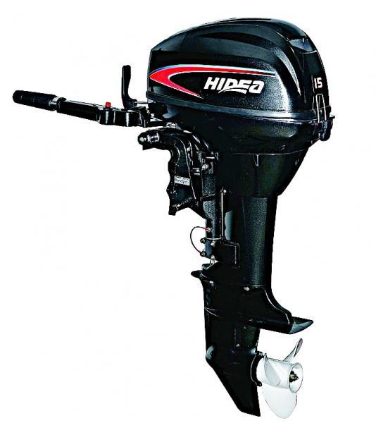 Лодочный мотор Hidea - 15 FHS (2 тактный)
