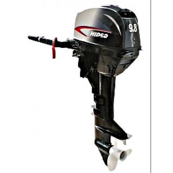 Лодочный мотор Hidea - 9,8 FHS (2 тактный)