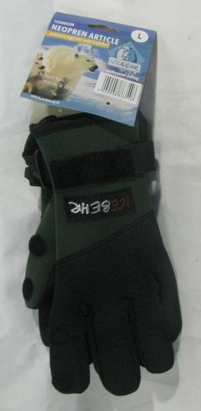 Перчатки Behr (неопрен)-8635430 с отстегными пальцами размер-L