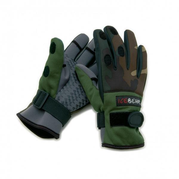Перчатки Behr (неопрен)-8635440 с отстегными пальцами размер-XL