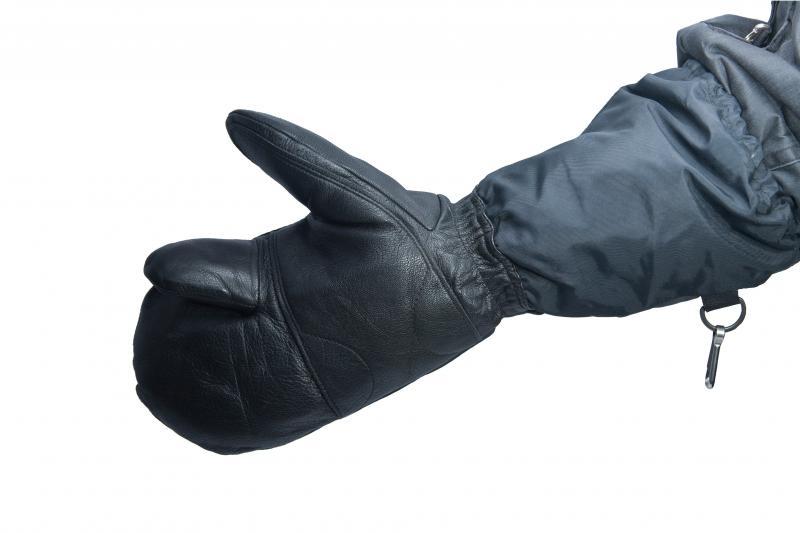 Перчатки кожа(палец)