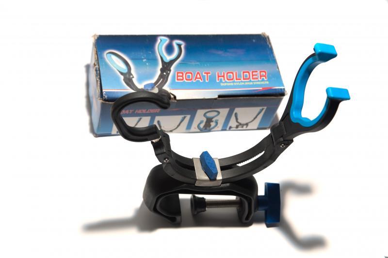 Подставка под удочку к лодке CDA-001(Boat Holder)-синяя