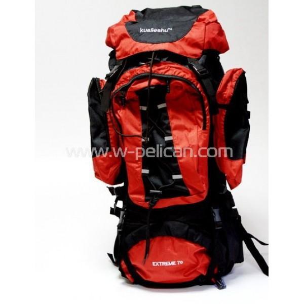 Рюкзак EOS 9203A (красный 70л)