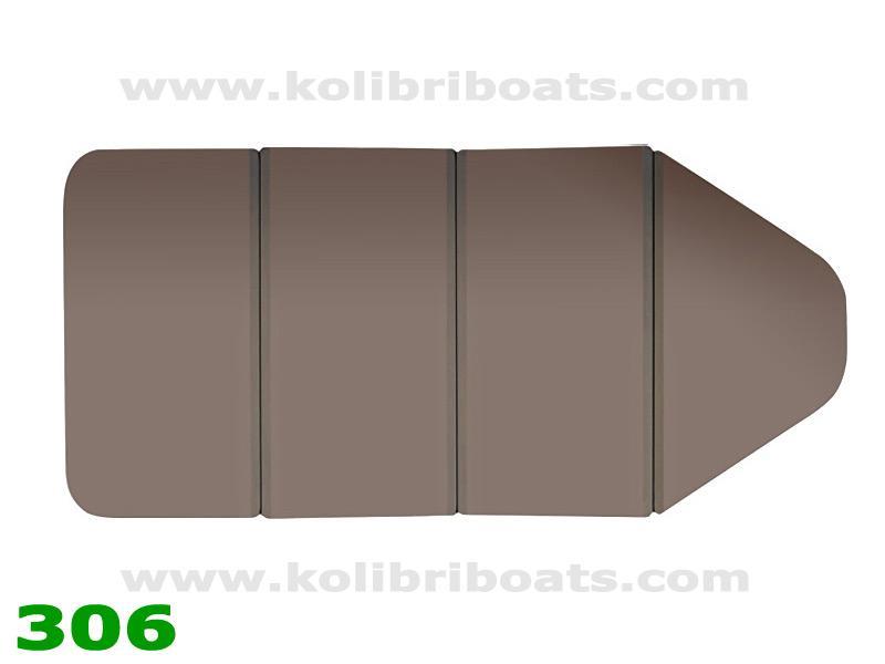 Слань-книжка КМ-280 (22.011.22)коричневый