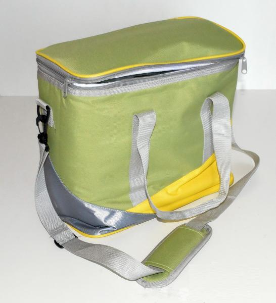 Сумка-термо HB5-824-20л(желт/салат)