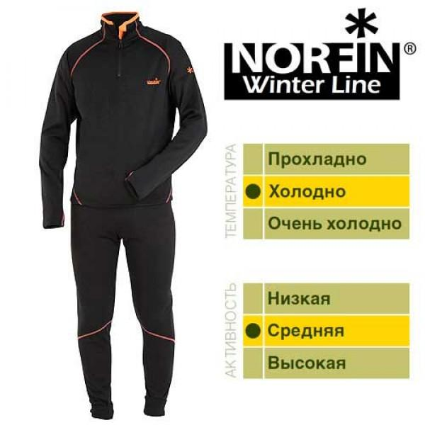 Термобельё Norfin Winter Line (чёрн)