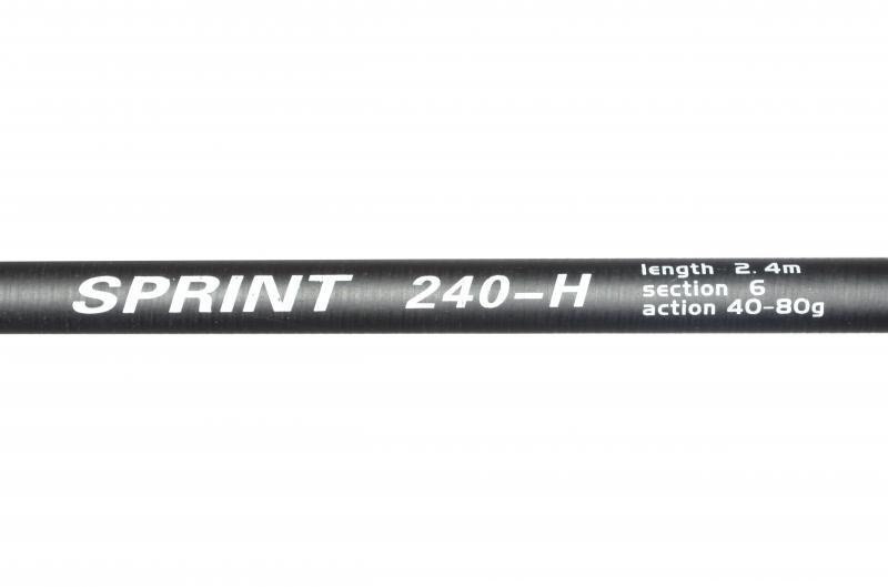 Удилище телескопическое Sprint - 2.40 / 40 - 80 гр