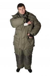 Фото  Одежда, Обувь, Головные уборы, Одежда, Одежда NOVA TOUR Костюм Буран v.2-30*С цвет хаки- ХХL