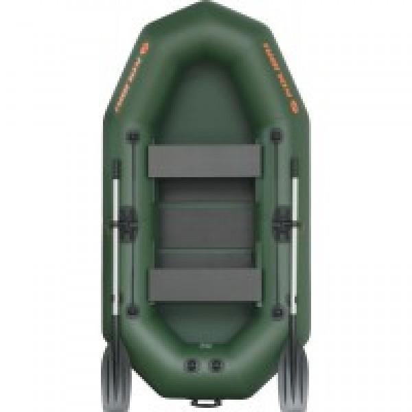 Лодка надувная Колибри K-250T (цветная) + слань