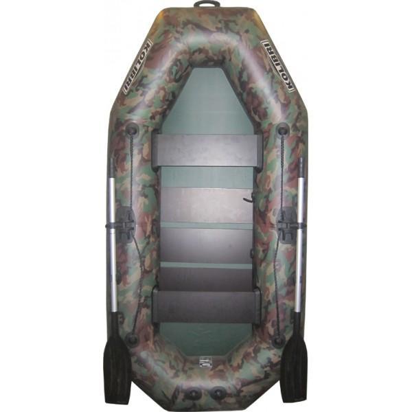 Лодка надувная Колибри K-240 (камуфляж) без слани