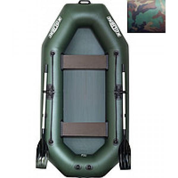 Лодка надувная Колибри K-280T (камуфляж) + слань