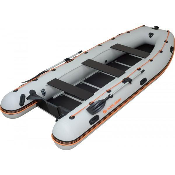 Лодка надувная Колибри KM-450 DSL (килевая) + слань