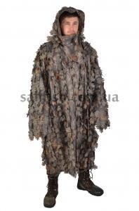 Фото  Одежда, Обувь, Головные уборы, Одежда, Плащи, Пончо Пончо Hillman(листва)-45101