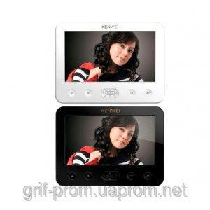 Видеодомофон цветной Kenwei E706C W200 white / black