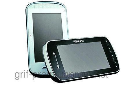 Видеодомофон Kenwei E703C BLACK / WHITE