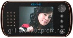 Видеодомофон цветной Kenwei E562C W80 BLACK / WHITE