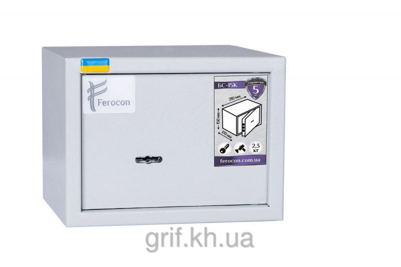 Сейф Мебельный механический Ferocon БС 15 К