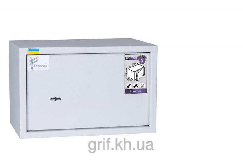 Сейф Мебельный механический Ferocon БС 20 КД 7035
