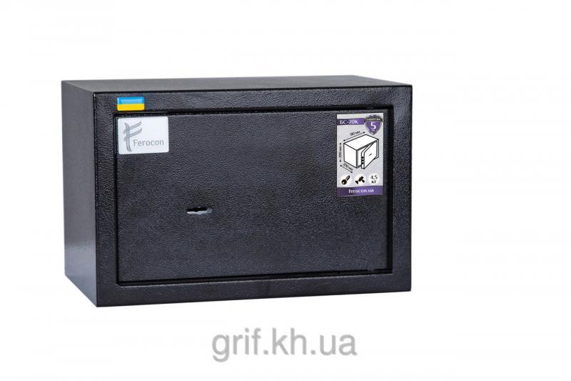 Сейф Мебельный механический Ferocon БС 20 К 9005
