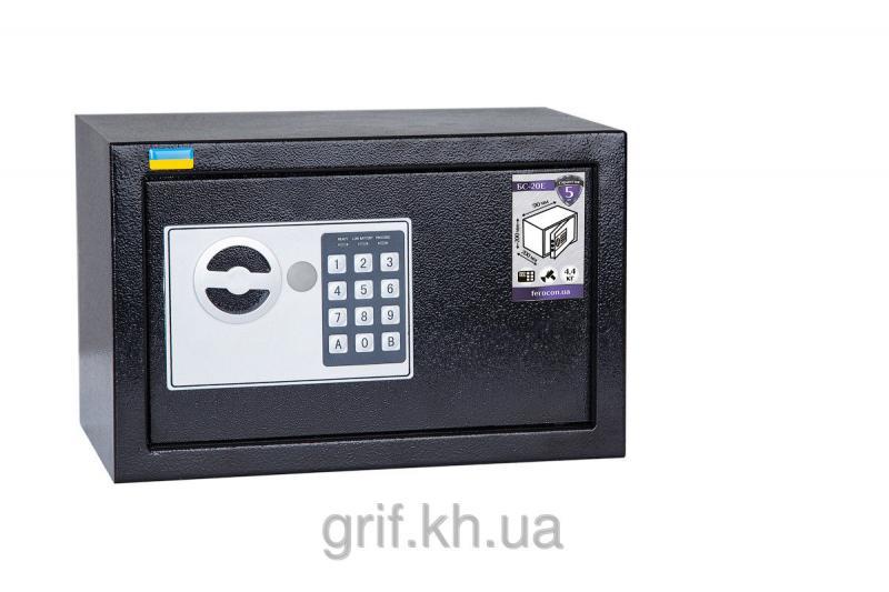 Сейф Мебельный электромеханический Ferocon БС 20 Е 9005
