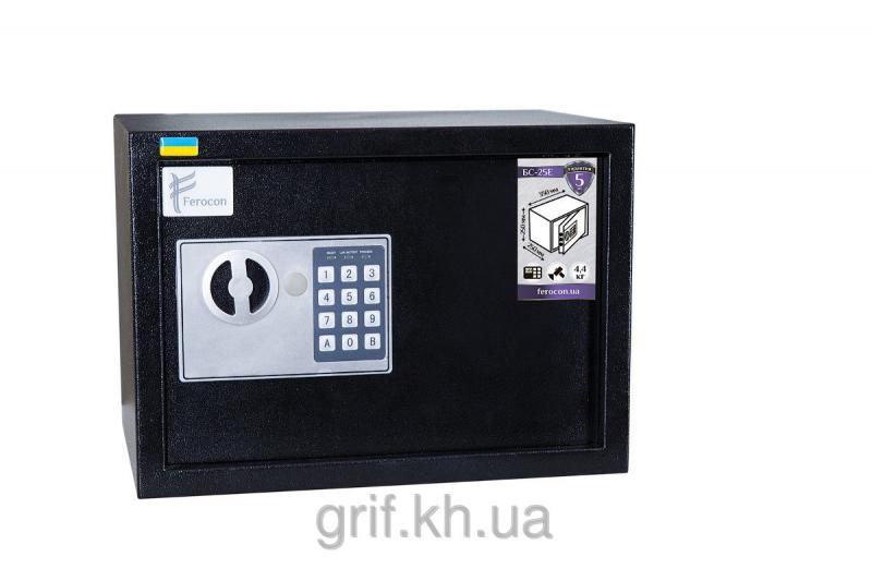 Сейф Мебельный электромеханический Ferocon БС 25 Е 9005