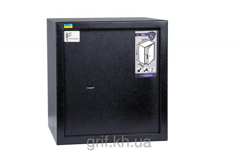 Сейф Мебельный механический Ferocon БС 38 К.П1 9005