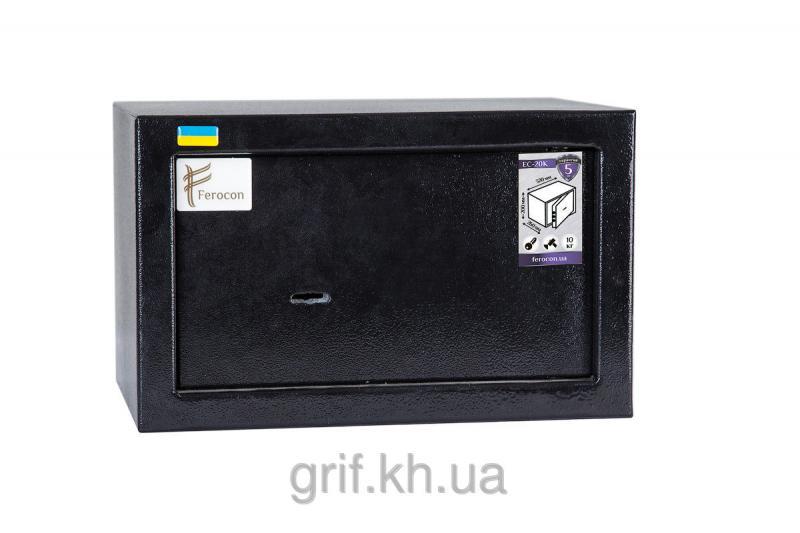 Сейф Мебельный механический Ferocon ЕС 30 К 9005