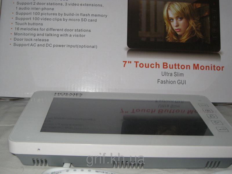 Видеодомофон цветной HOLMESS-PRO SHY-D724(white)