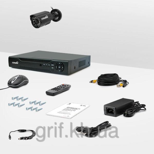 Комплект видеонаблюдения «установи сам» Страж Контрол 1У (УЛ-480К-1)