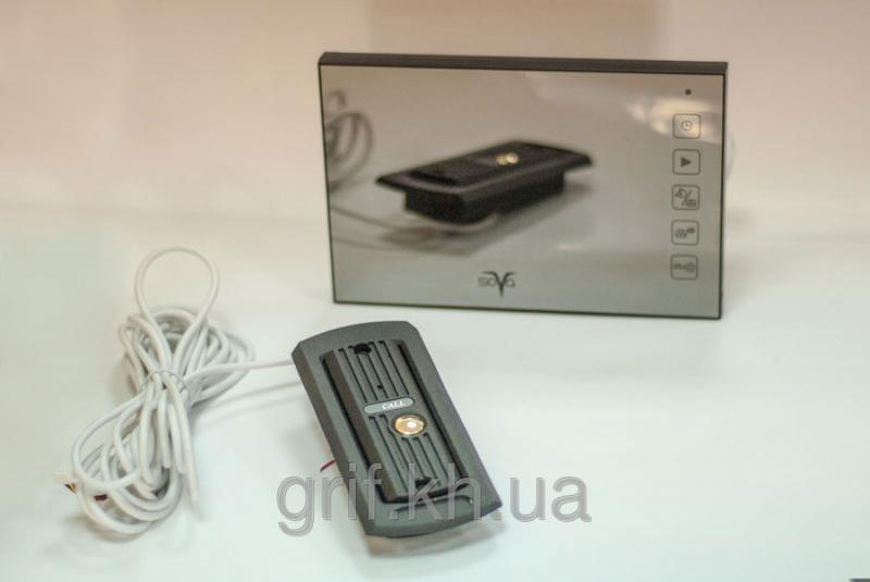 Видеодомофон цветной без трубки с памятью SOVA М700R комплект